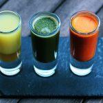 health drink shot