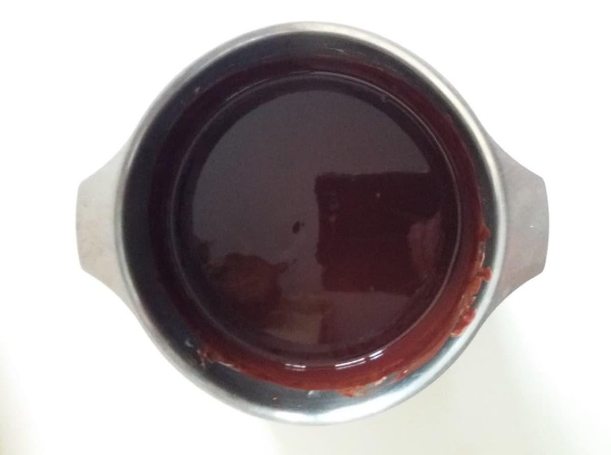 gateau melange chocolat beurre café