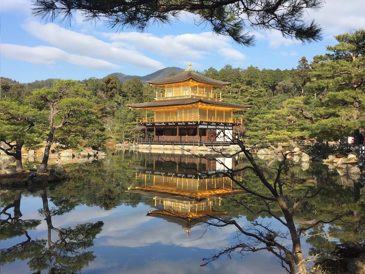 Pavillon d'or, Kinkaky Ju à Kyoto