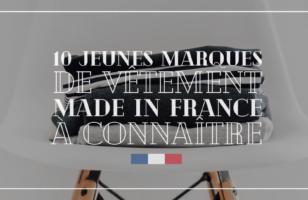 10 marques de vêtements made in France