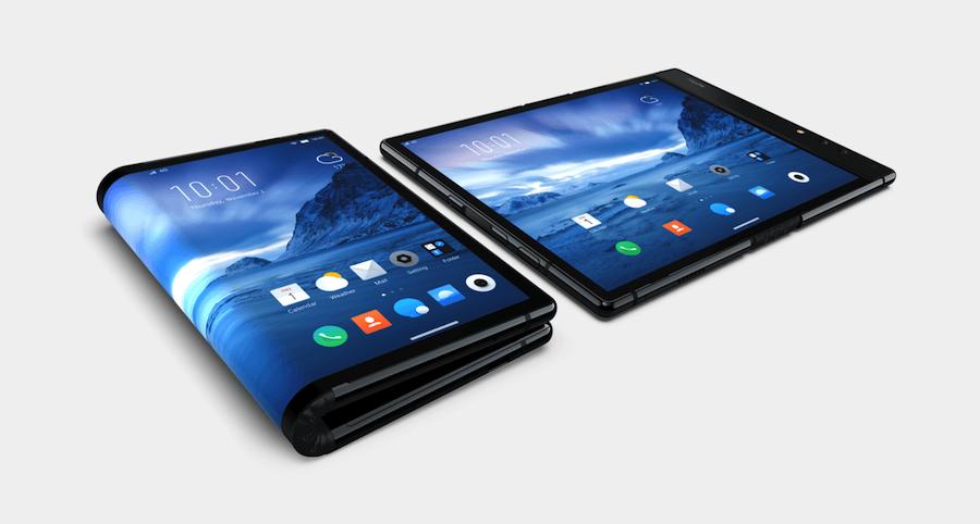 smartphone pliable flexpai royole