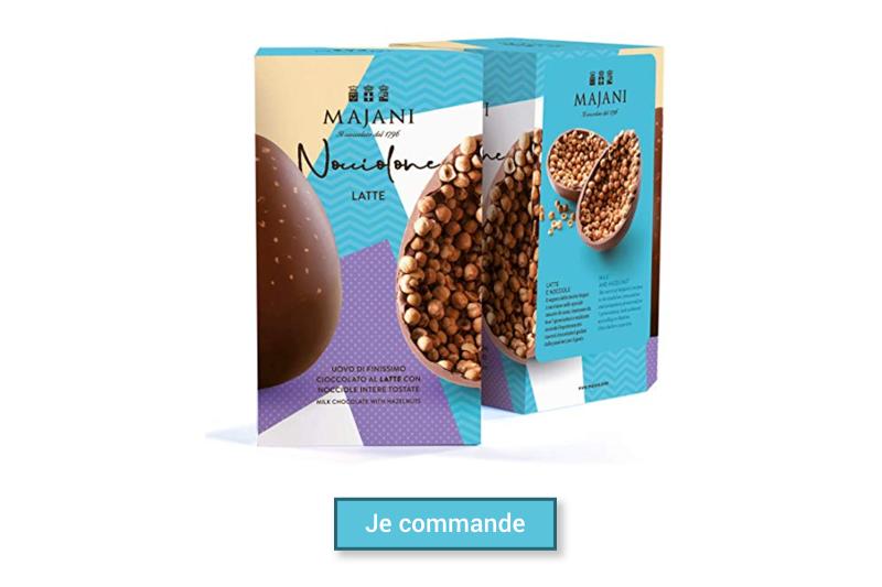 Majani oeuf de Paque chocolat