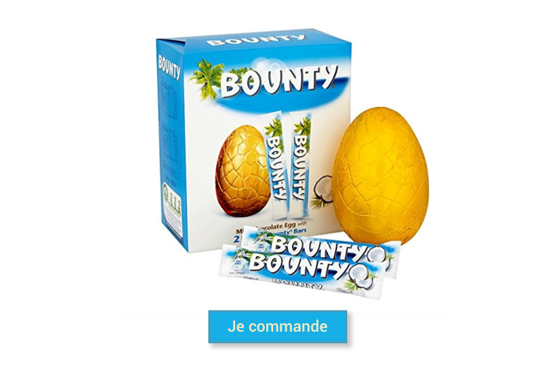 oeuf de paques bounty