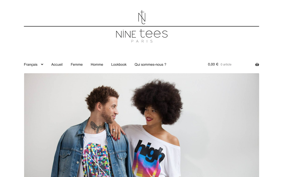 Nine Tees Paris