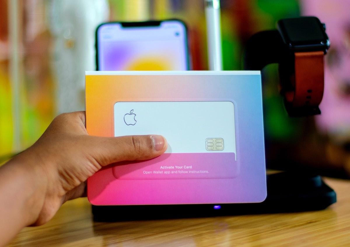 Design Apple Card banque