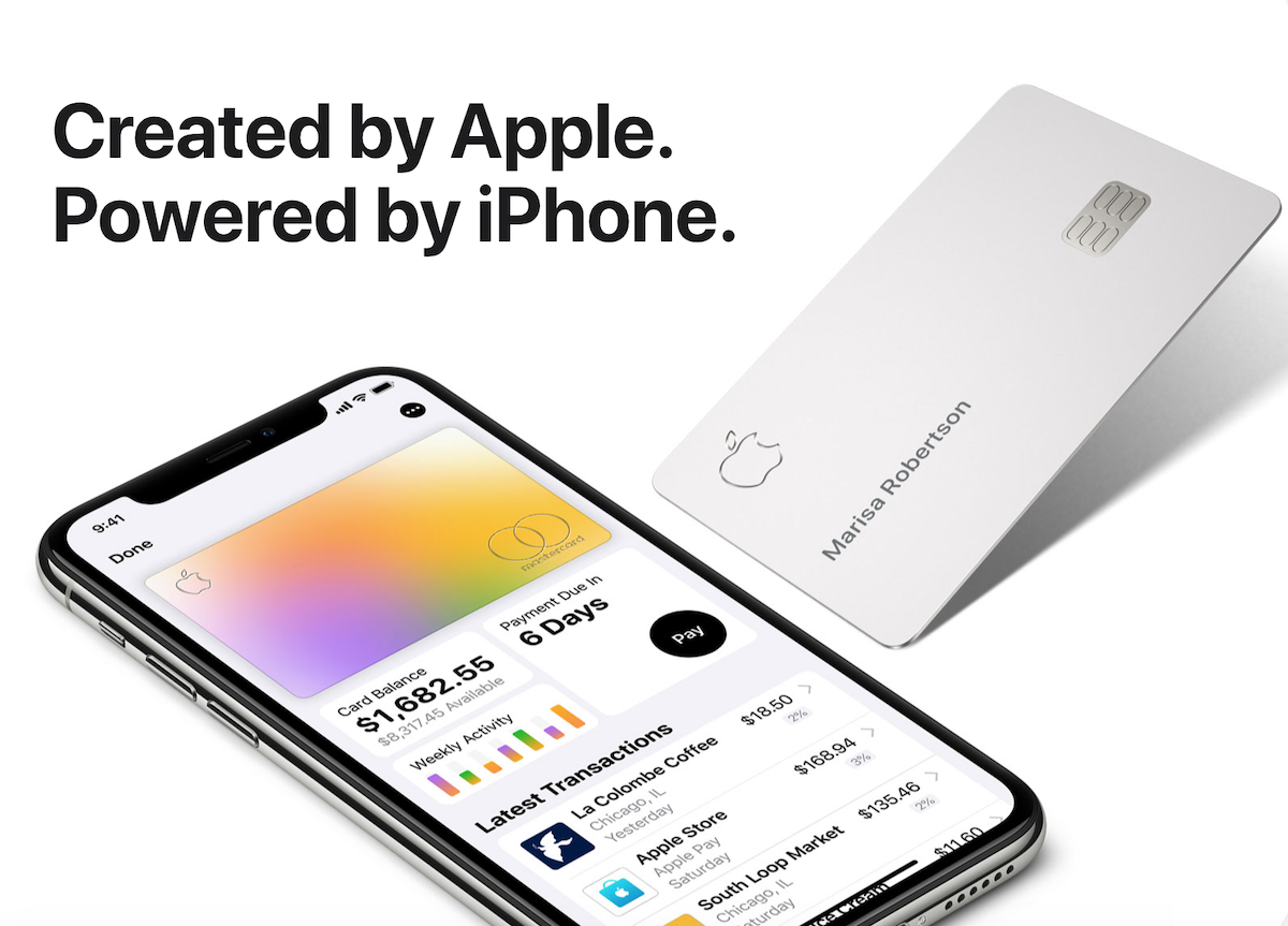 Apple Card iPhone Banque