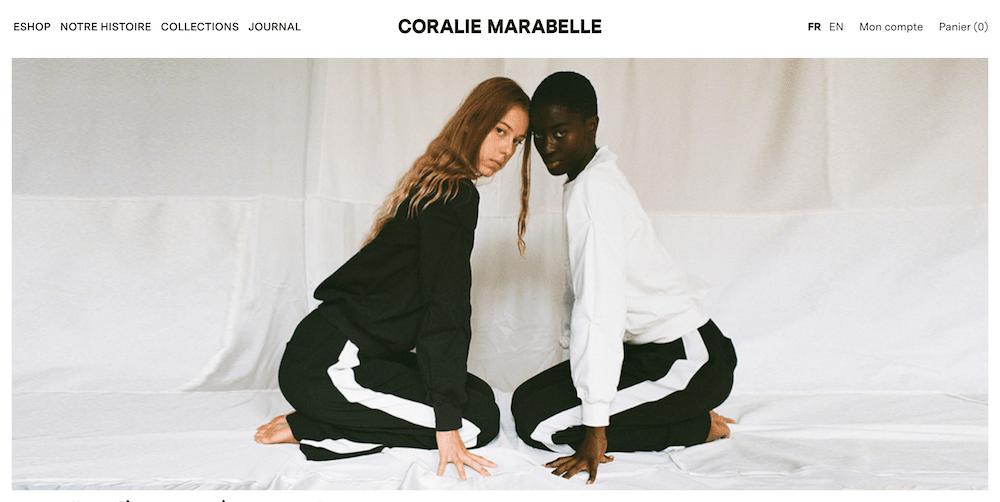 coralie marabelle vetement marque français