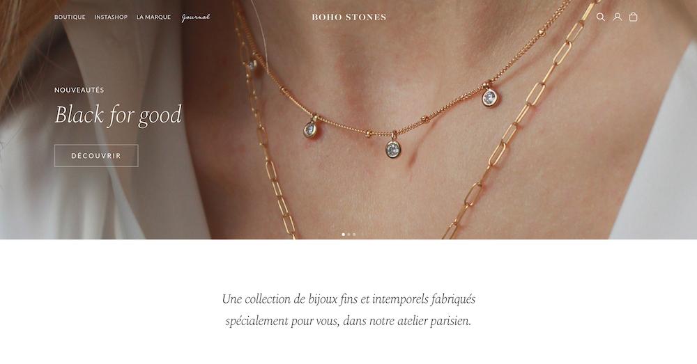 Boho Stones bijoux créations ateliers parisiens