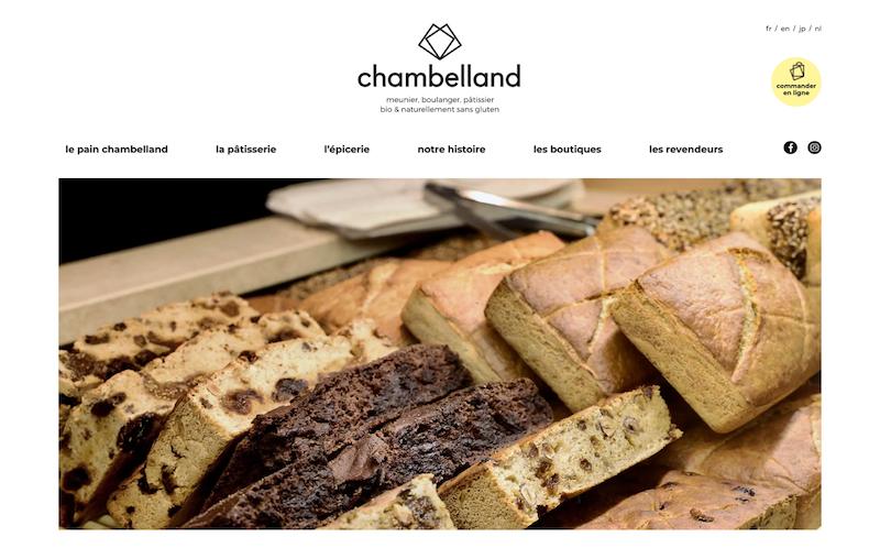 Chambelland boulangeries Paris