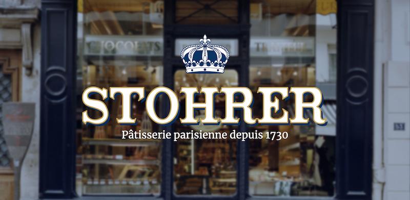 Stohrer la plaus ancienne pâtisserie de Paris